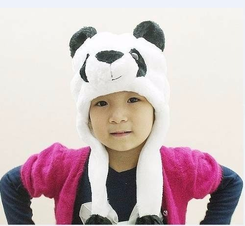 d426a732b8dcd Kit 10 Touca Gorro Bichinhos Pelúcia Inverno Urso Panda - R  219