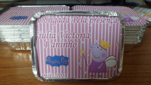 kit 10 tubete + 10 marmitinha + 10 latinha