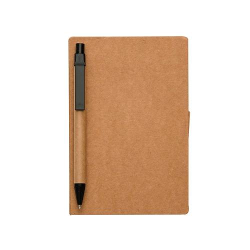 kit 10 un bloco de anotações ecológico, post-it + caneta