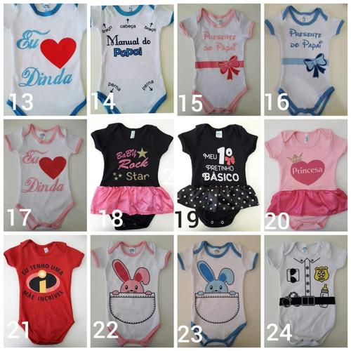 02a359661 Kit 10 Und Body Bodies Minions Menina Infantil Bebê Barato - R$ 133 ...