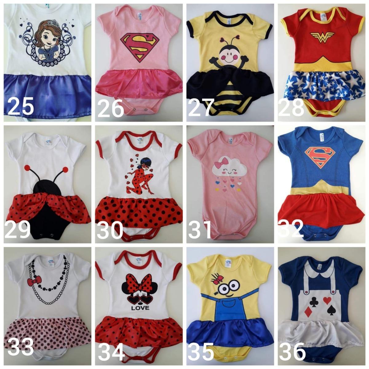 79f819e89 kit 10 und body bodies minions menina infantil bebê barato. Carregando zoom.