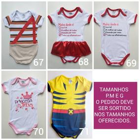 64da6074b Body Infantil Barato - Bodies de Bebê no Mercado Livre Brasil