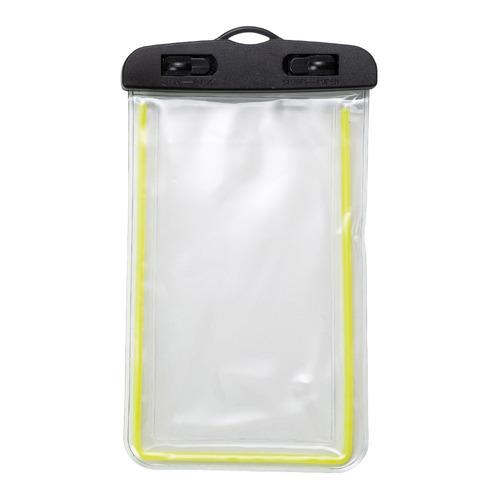 kit 10 unidades capa à prova dágua para celular