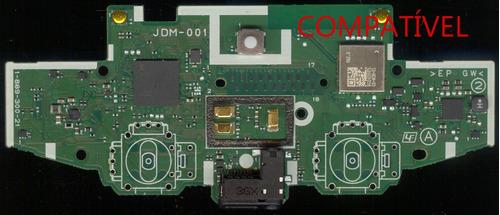 kit 10 unidades suporte interno reparo controle ps4 jdm 001