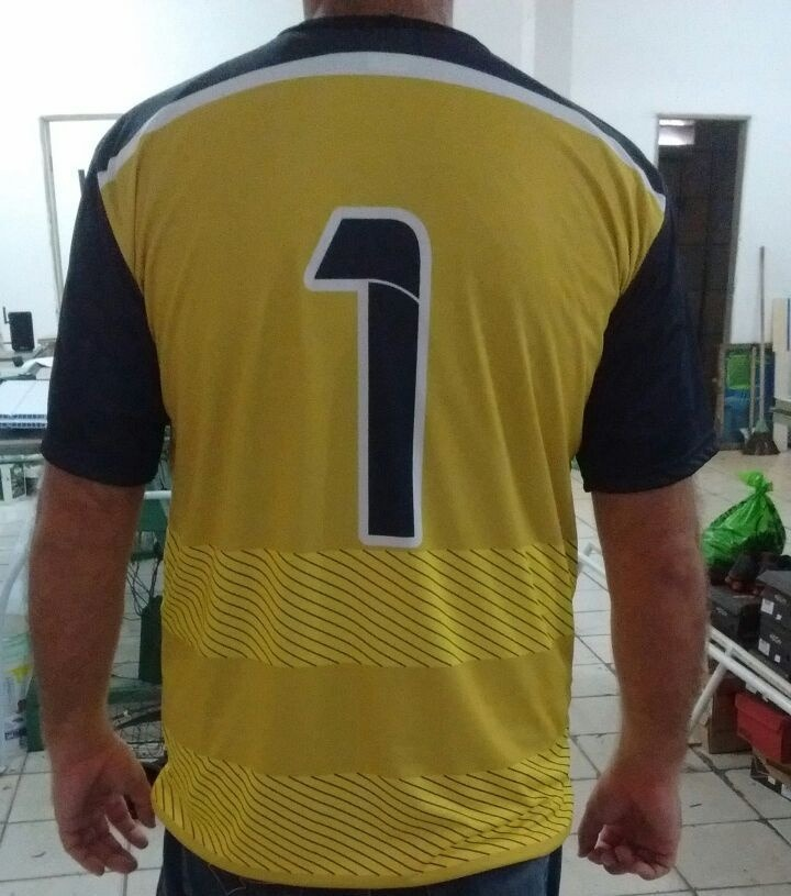 kit 10 (uniforme personalizado para futebol (camisa+calção)). Carregando  zoom. eac107d8eef04