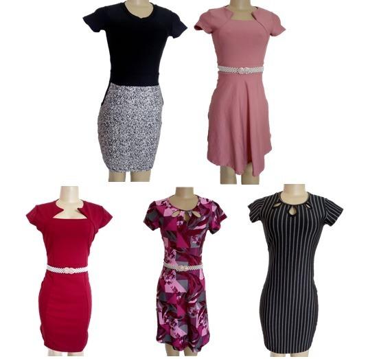 e15a4a03b Kit 10 Vestidos Moda Evangélica Lindos Para Revenda - R  389
