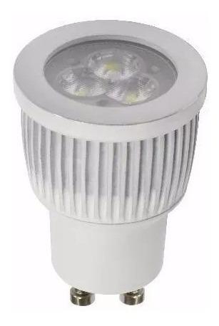 kit 10 x micro spot de embutir led 110v 220v llum bronzearte