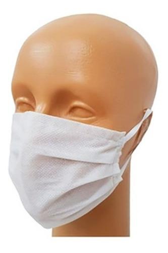kit 100 barbijos mascarilla respirador descartable premium