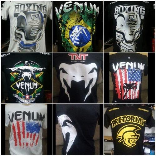 kit 100 camiseta camisa masculina mma-ufc luta imperdivel!