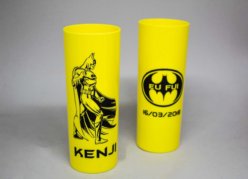 kit 100 copos long drink 350ml acrílico personalizados ;)