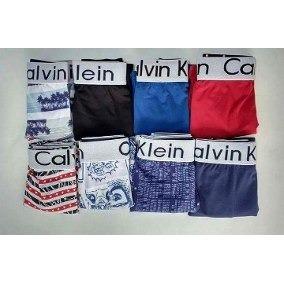 14ec9afb0f6d8f Kit 100 Cuecas Calvin Klein Microfibra Estampas Variadas