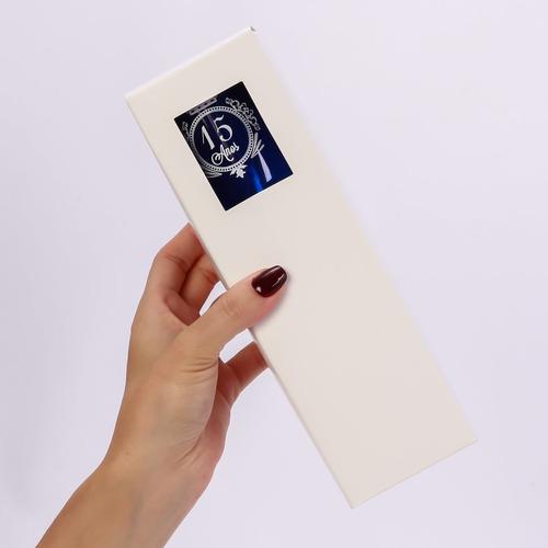 kit 100 embalagens presente para taças champanhe 215ml