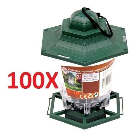 kit 100 lanterna lampião silencioso repelente contra insetos