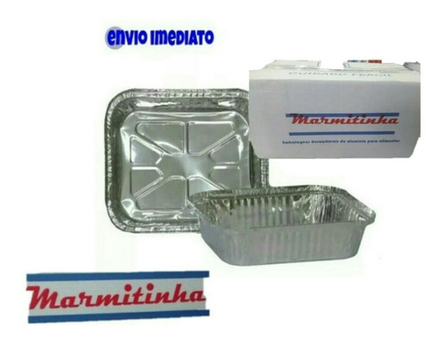kit 100 marmitas de alumínio para bolo empada lembrancinhas