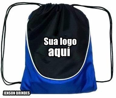 6f53eb812 Kit 100 Mochila Saco Personalizada Frete Grátis - R$ 850,00 em ...