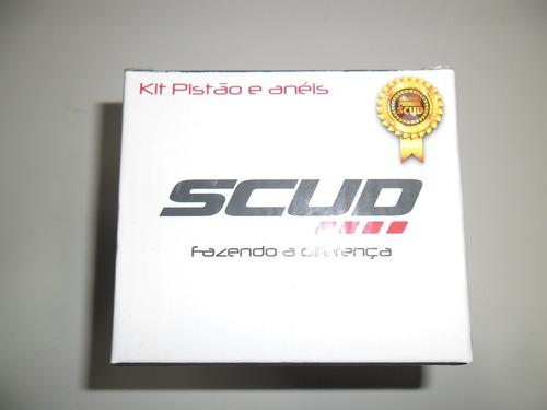 kit 1.00 pistao + aneis ybr factor 125 00 a 14 scud 10270025