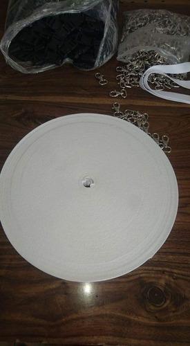 kit 100 porta gafetes para sublimar cinta, broches y bandola
