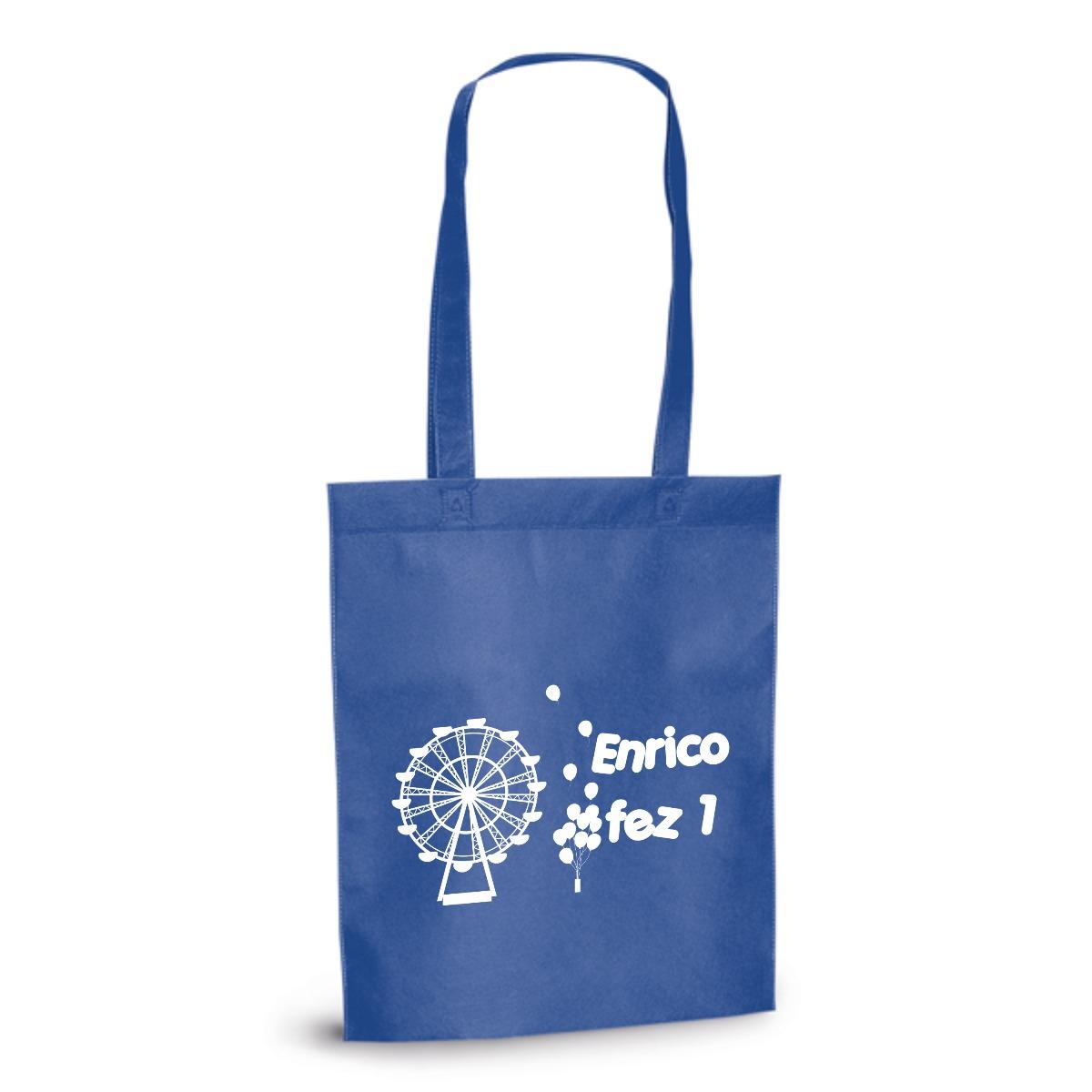 e8acbf69a Kit 100 Sacola Ecológica 27x35 Alça 55 Ecobag Personalizada - R$ 429 ...