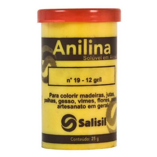 kit 100 unidades anilina 25 gramas salisil (frete grátis)