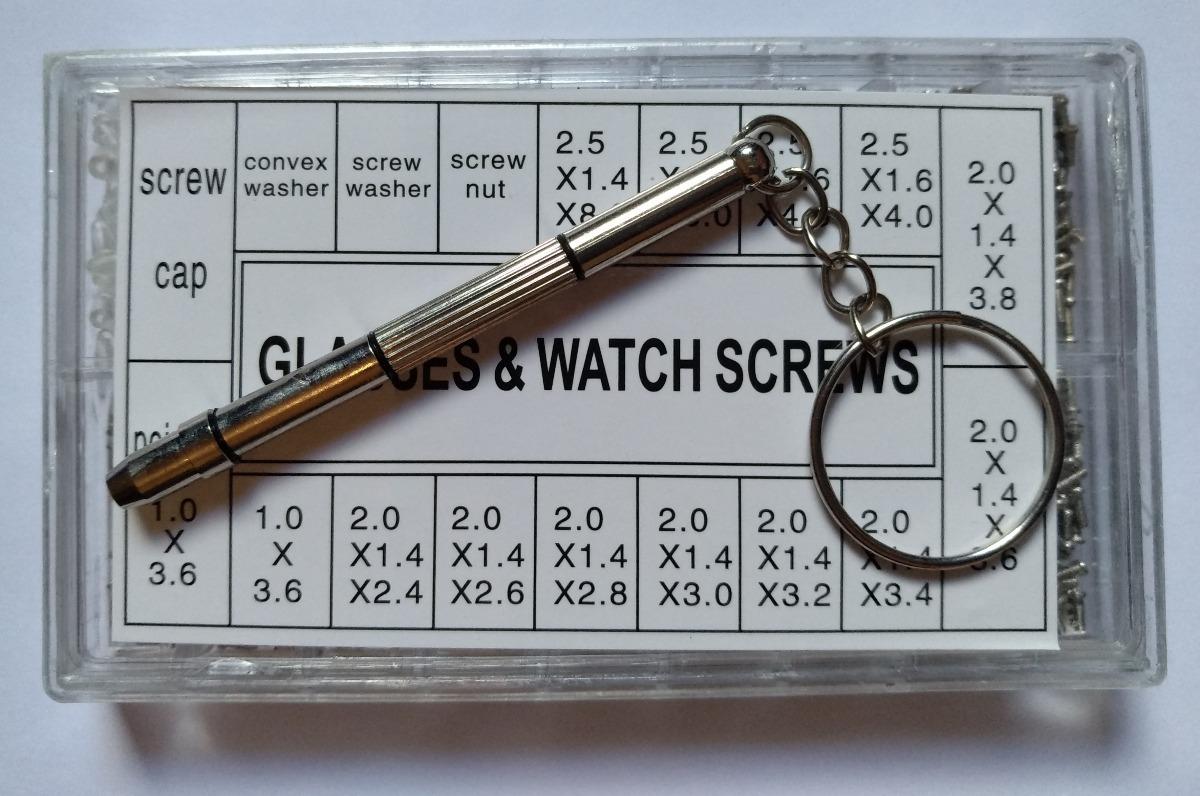 738d5485ee195 kit 1000 micro parafuso reparo armação oculos relogio +pinça. Carregando  zoom.