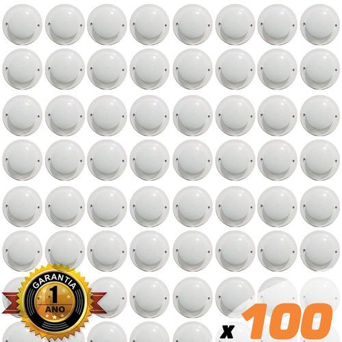 kit 100x detector incêndio térmico 12/24v frete grátis p2