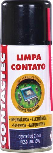 kit 10un limpa contato contactec 130g/210ml
