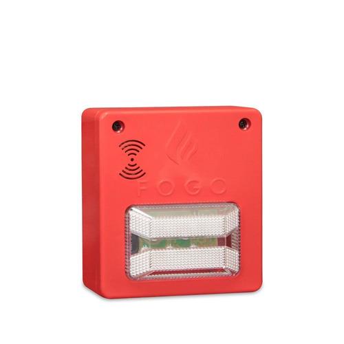kit 10x sinalizador audiovisual 12/24v promoção p1
