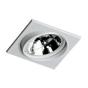 Kit 10x Spot Embutido Ar111  Direcionavel C/ Lamp. Led 3000k