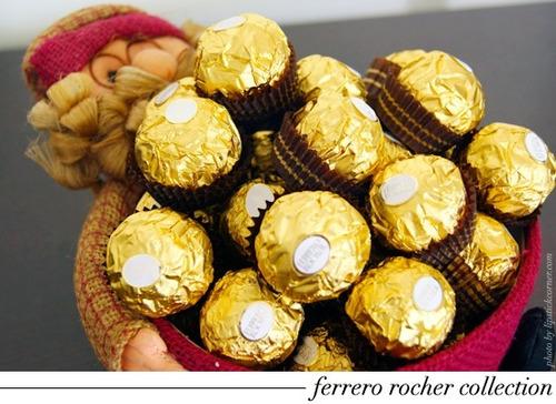 kit 12 caixa chocolate ferrero rocher c/144 ferrero atacado