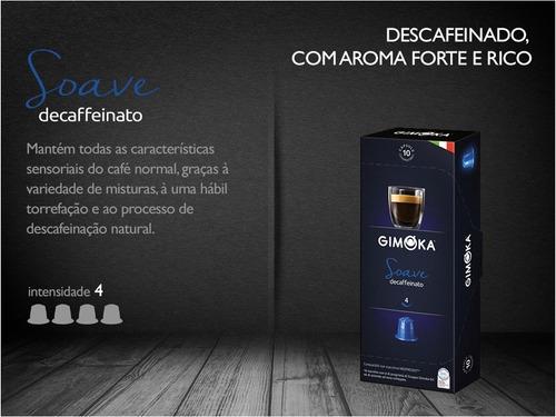 kit 12 caixinhas  café compatíveis nespresso® - gimoka