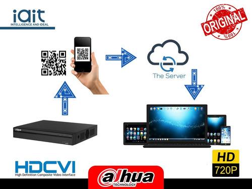 kit 12 cámaras cctv profesional dahua 16ch hd 720p dd 3tb