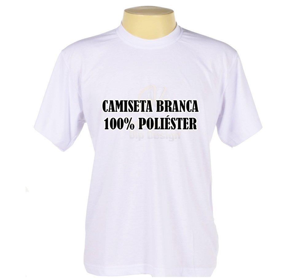 592a7c5e9c48f kit 12 camisetas branca 100%poliester atacado sublimação. Carregando zoom.