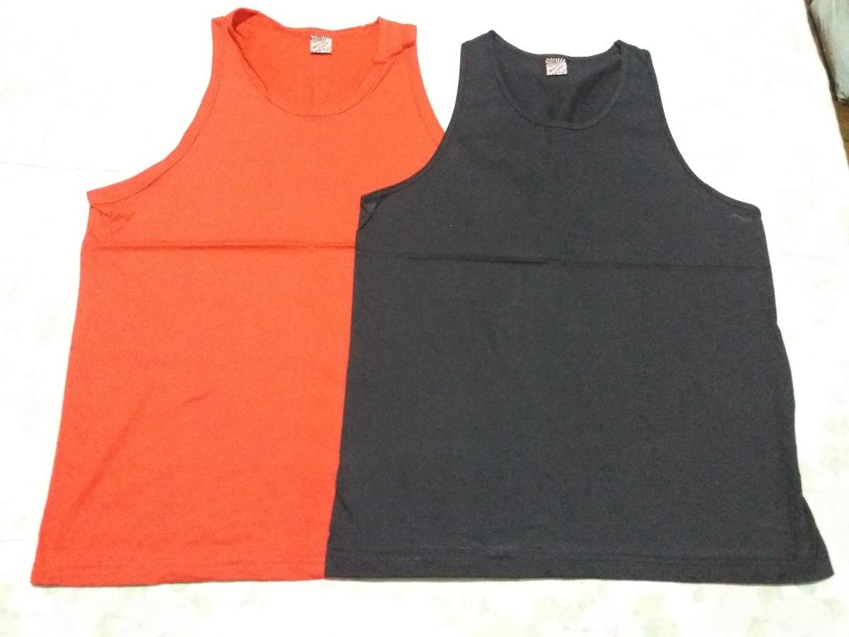 7acb28af9eb8f kit 12 camisetas regatas masculina fio 30.1 100% algodão. Carregando zoom.