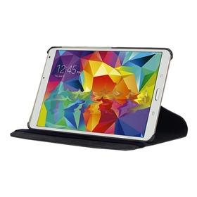 Kit 12 Capas Giratórias + Pel. Vidro Galaxy Tab S 8.4 T700
