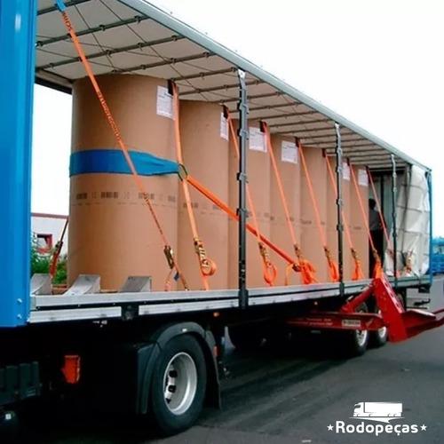 kit 12 catraca + 12 cinta amarração 5 ton 9 metros rabicho j