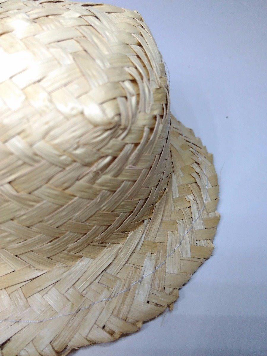 kit 12 chapéu de palha frisado boneca festa junina caipira. Carregando zoom. ca7d7e0ec3b