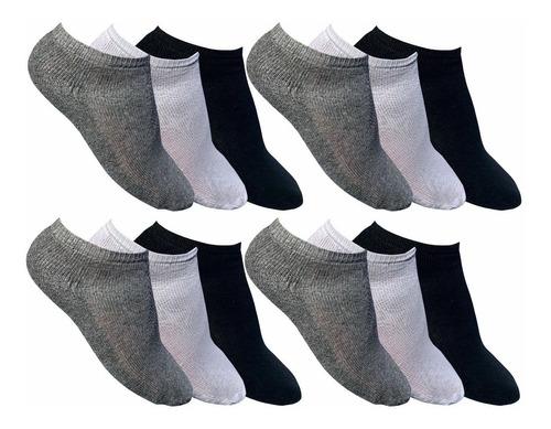 kit 12 cuecas box cordoba + 12 pares de meias sapatilha
