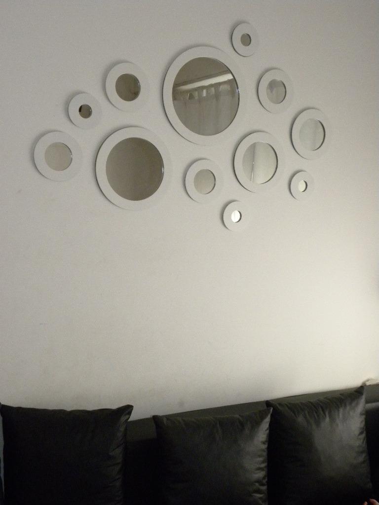 Marcos para fotos redondos marco para fotos redondo de cm for Espejos circulares pared