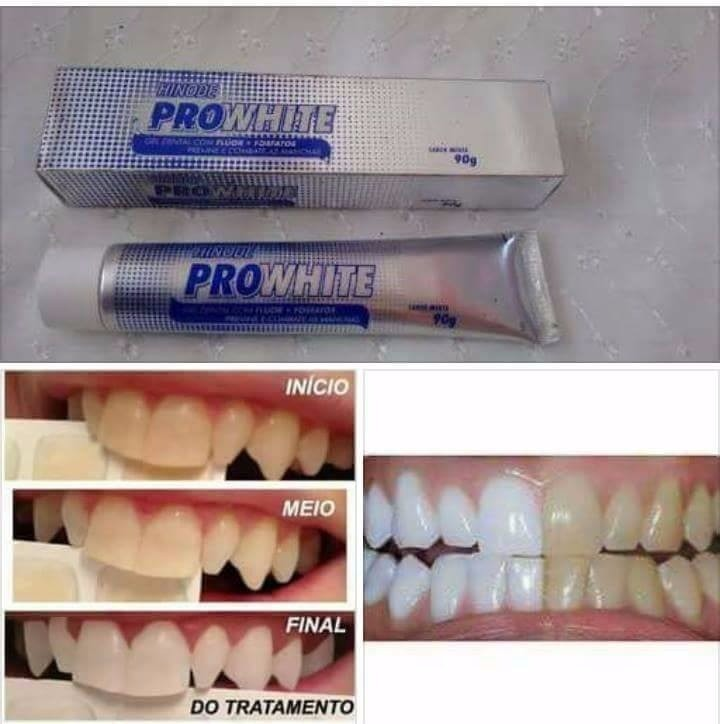 Kit 12 Gel Dental Clareador Hinode Pro White R 122 99 Em Mercado