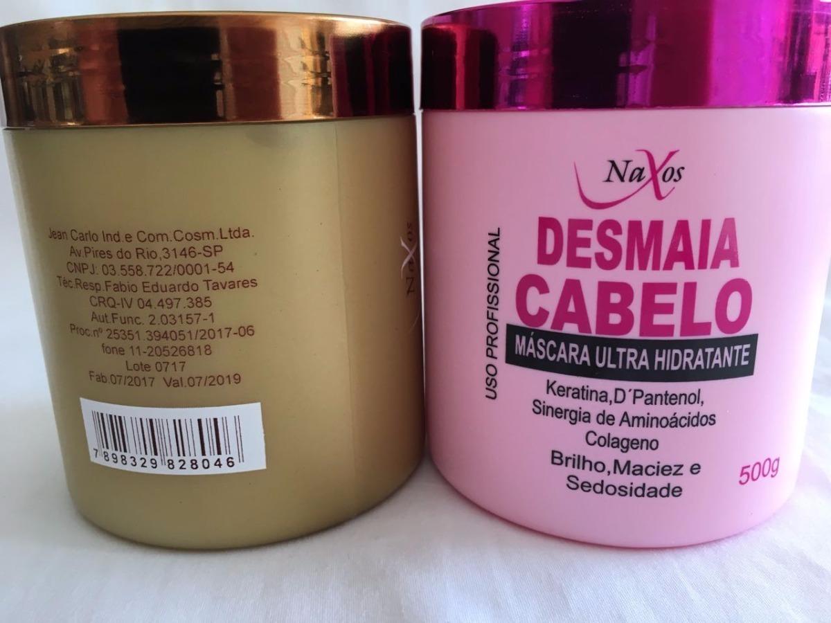 3d688414c Kit 12 Mascaras Naxos, 6 Banho De Verniz 6 Desmaia Cabelo - R$ 159 ...