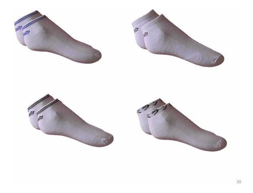 kit 12 pares meia masculina soquete sapatilha cores sortidas