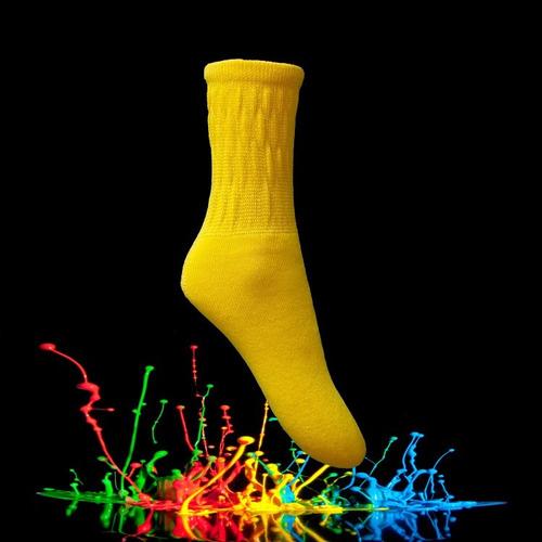 kit 12 pares meias aeróbica sortidas cano médio frete grátis