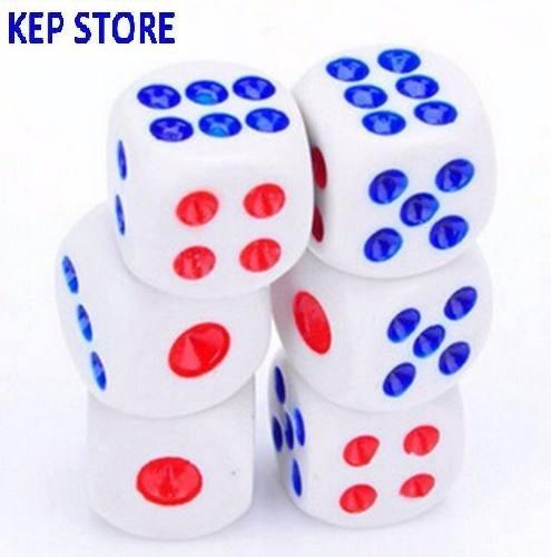 kit 12 peças jogo de dados rpg 14mm 6 faces tabuleiro