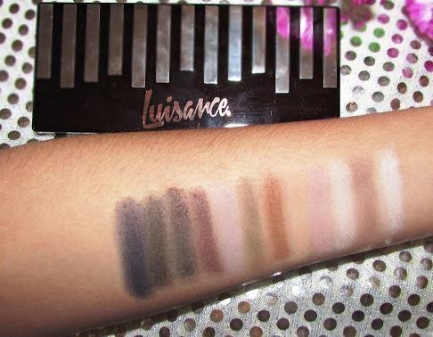 kit 12 pincéis macrilan + paleta sombras day by day luisance