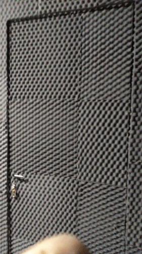kit 12 placas 35mm 3 m² espuma acustica anti chamas