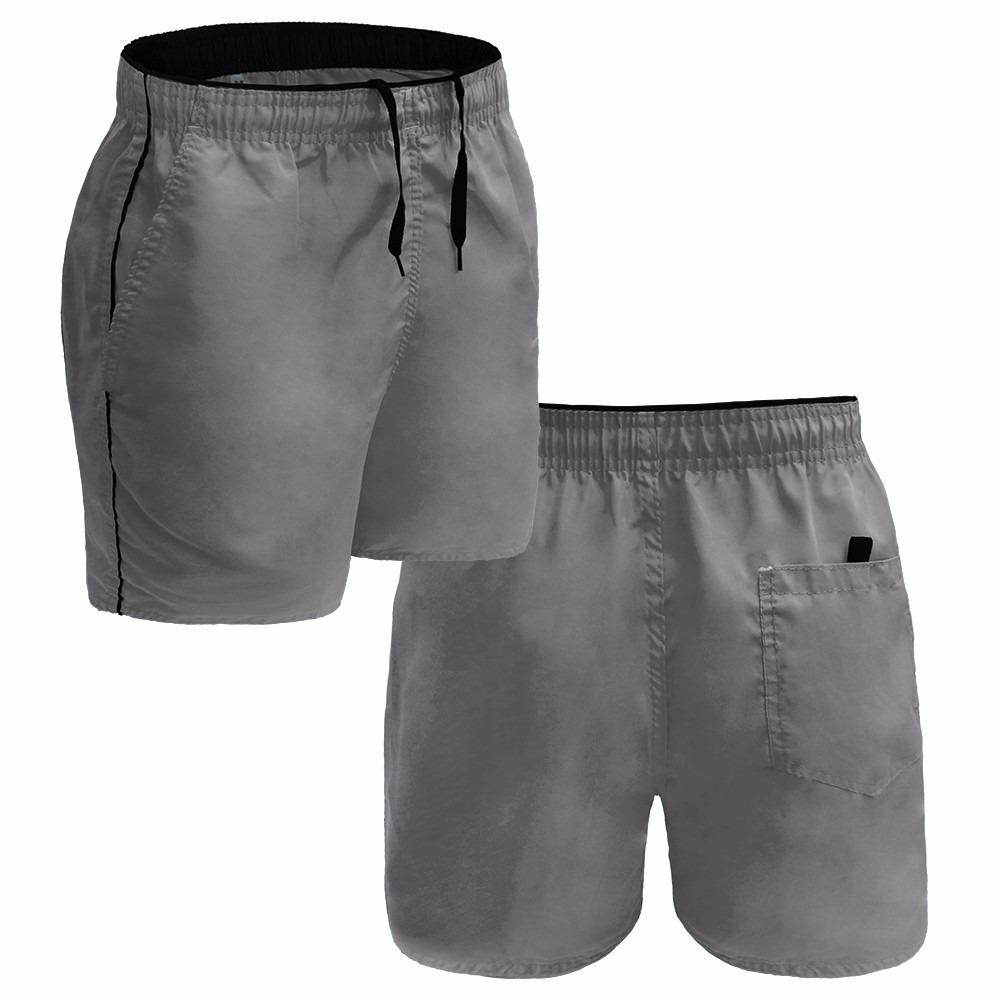 548a2163ce141 Kit 12 Short Masculino Bermuda Tactel Academia Esporte Fit - R  152 ...