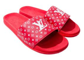 654808ad321773 Kit 12 Unid Atacado Chinelo Sandalia Gucci Slide Supreme