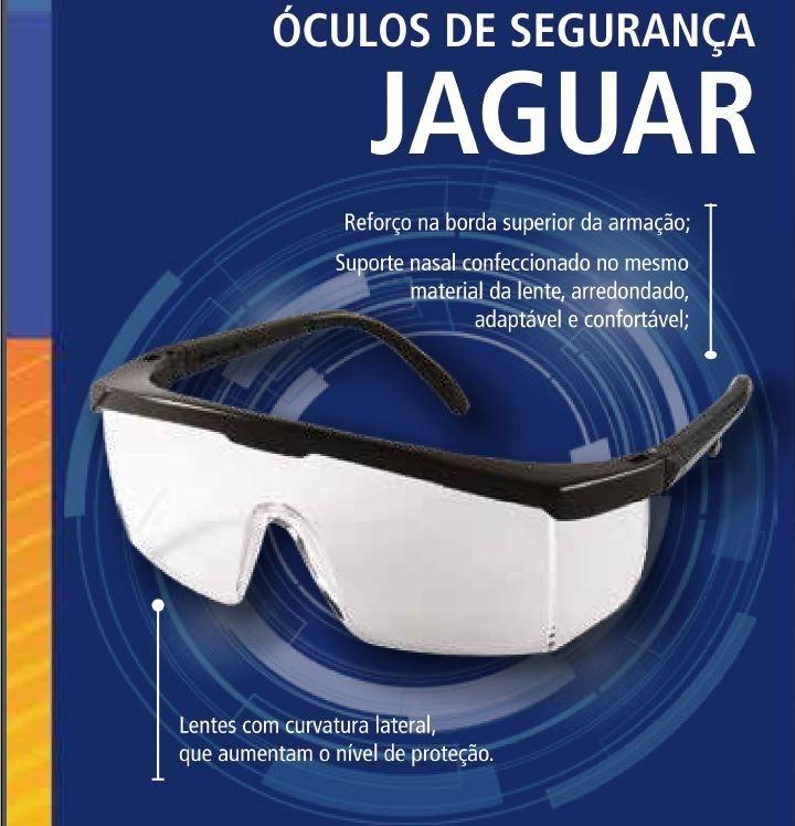 Kit 12 Unidades Óculos De Proteção Jaguar Kalipso Ca 10346 - R  54,90 em  Mercado Livre 7245f4ffe0