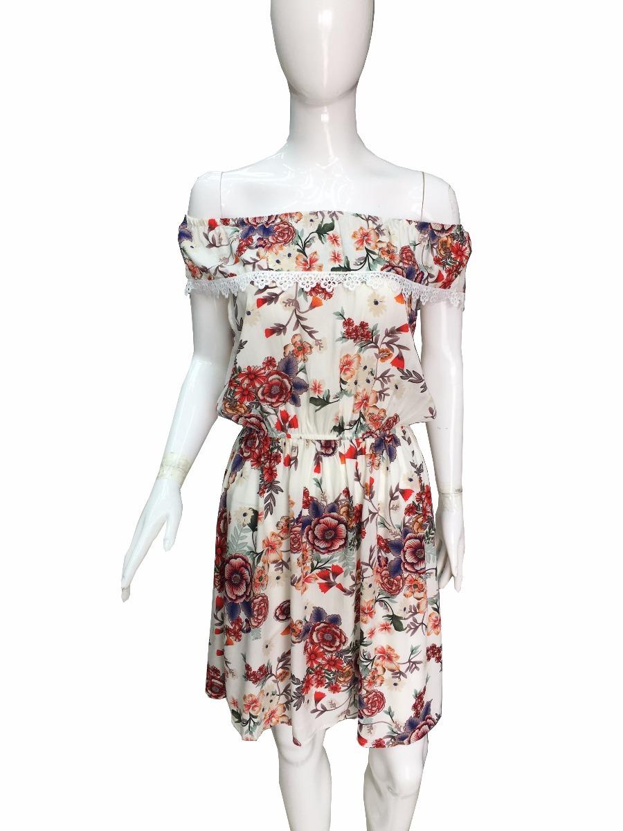 282234f483 kit 12 vestido curto ciganinha ombro a ombro viscose floral. Carregando zoom .