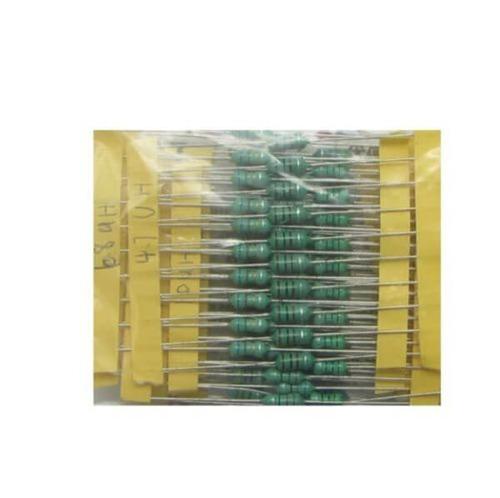 kit 120 indutores sortidos com 12 valores variados ck 1uh-1m